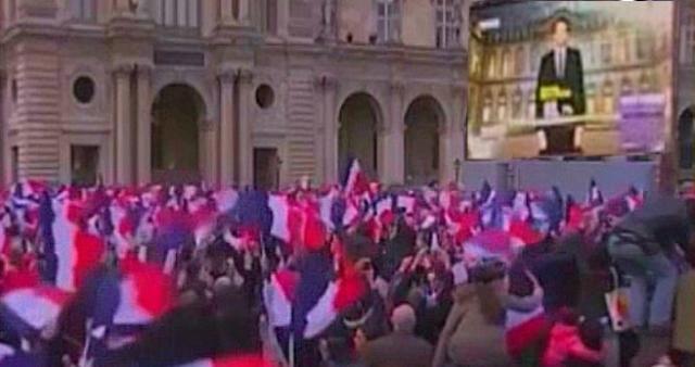 Macron Celebration WP